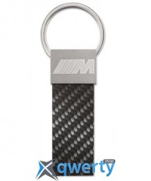 Брелок BMW M Carbon Key Ring Pendant, Black(80272410929)