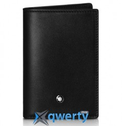 Кожаная визитница BMW Montblanc Business Card Holder, Black(80212413713)