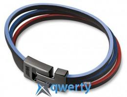 Кожаный браслет унисекс BMW M Bracelet, Unisex(80232410921)