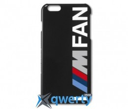 Крышка BMW для Apple iPhone 6 Motorsport I ///M FAN Mobile Phone Case, Black(80282406091)
