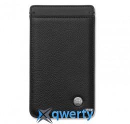 Универсальный кожаный чехол для смартфона BMW Iconic Universal Mobile Phone Case Black(80212406671)