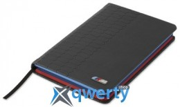 Записная книжка BMW M Notebook, Pocket Size, Black(80242410925)