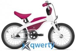 Детский велосипед BMW Kidsbike, White / Raspberry Red, 2016(80932413747)