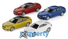 Коллекционный набор из 4-х моделей BMW M-серии, 1:64 scale(80452365554)