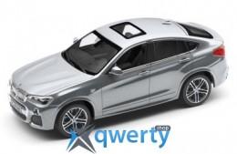 Модель автомобиля BMW X4 (F26), Glacier Silver, Scale 1:43(80422348787)