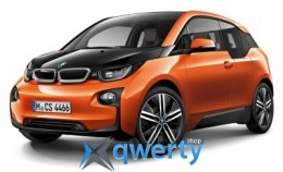 Модель BMW i3 (i01), Scale 1:43, Black/Orange(80422320105)