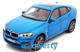 Модель BMW X6M (F86), Scale 1:18, Long Beach Blue Metallic(80432364885)