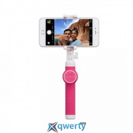 Momax SelfieHero 70cm with Bluetooth Pink (KMS6P)