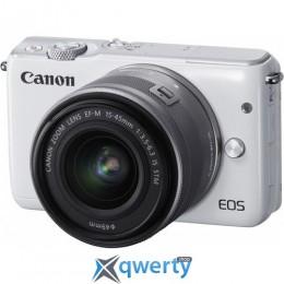 Canon EOS M10 + 15-45 IS STM Kit White Официальная гарантия!!!
