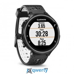 GARMIN Forerunner® 230, GPS, EU, Black & White Bundle (010-03717-46)