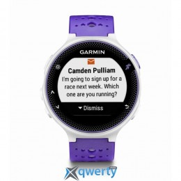 GARMIN Forerunner® 230, GPS, EU, Purple & White Bundle (010-03717-47)