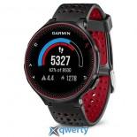 GARMIN Forerunner 235, GPS, EU, Black & Marsala Red (010-03717-71)