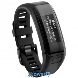 GARMIN vίvosmart HR, E EU, Black, Regular (010-01955-12)
