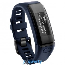 GARMIN vίvosmart HR, E EU, Blue, Regular (010-01955-14) купить в Одессе