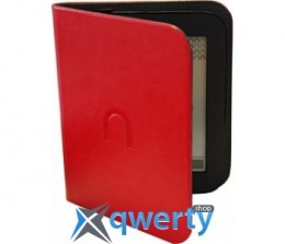 Barnes&Noble Leather Case Red  for Nook Touch