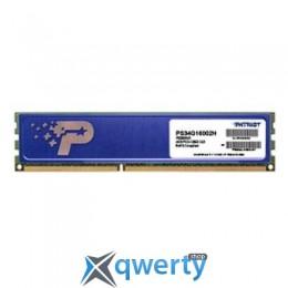 DDR3 4GB 1600 MHZ PATRIOT (PSD34G16002H)