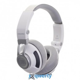 JBL On-Ear Headphone Synchros S300 A White/Silver (SYNOE300AWNS)