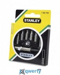 Stanley из 6 вставок и магнитного держателя (1-68-739)