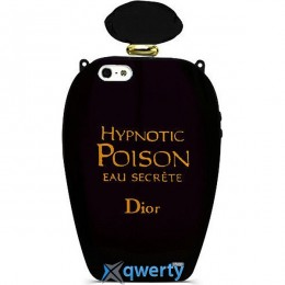 DIOR Perfume Poison Case for iPhone 5/5S Black (DIOR-PFPSN-BLCK)