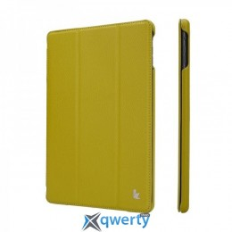 JISONCASE Ultra-Thin Smart Case for iPad Air/iPad Air 2 Olive (JS-ID5-09T73*)