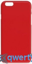 Happy Plugs Ultra Thin Case Red for iPhone 6/6S (8861)