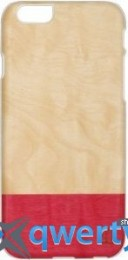 Mannwood Case Wood Miss Match/White for iPhone 6/6S (M1484W)