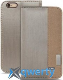 Moshi Overture Wallet Case Brushed Titanium for iPhone 6 Plus/6S Plus (99MO052242)