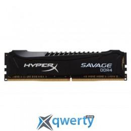 DDR4 4GB 2666 MHZ SAVAGE BLAK KINGSTON (HX426C13SB2/4)