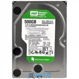HDD SATA 500GB WD Caviar Green 5400rpm 16MB (WD5000AACS)