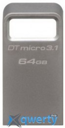 Kingston 64GB USB 3.0 DTSE9 G2 Metal Silver(DTMC3/64GB)