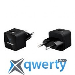 Capdase USB Power Adapter Atom Plug Black (1 A) (AD00-A001-EU)