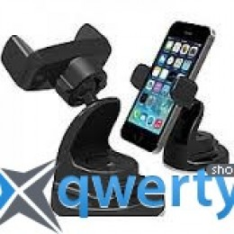 iOttie Easy One Touch Universal Car Mount Holder Black for iPhone/Smartphone (HLCRIO102)