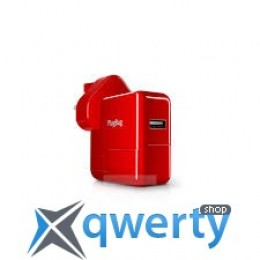 Twelvesouth PlugBug World White/Red (2.1 A) (TWS-12-1211)