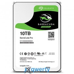 Seagate BarraCuda Pro HDD 10TB 7200rpm 256MB  3.5 SATA III  ST10000DM0004