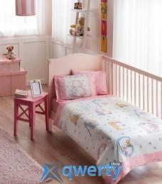TAC Sweet Animals Baby Pink Ранфорс