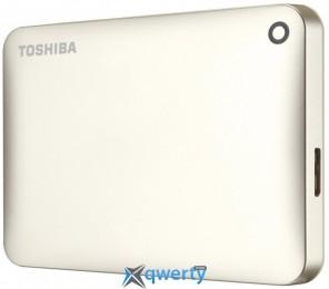 Toshiba Canvio Connect II Satin gold (HDTC820EC3CA) HDD 2.5 USB 2.0TB