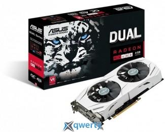 AMD Radeon RX 480 4Gb GDDR5 OC Asus (DUAL-RX480-O4G)