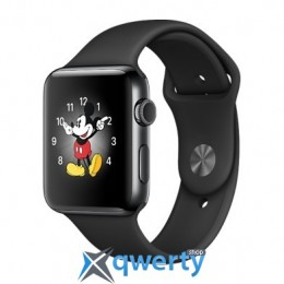 Apple Watch Series 2 42mm Space Black Stainless Steel Case with - Space Black Stainless Steel (MP4A2)