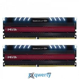DDR4 2x8GB/2400 Team Delta White LED (TDTWD416G2400HC15ADC01)