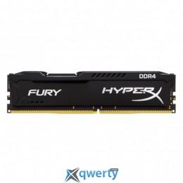 DDR4 8GB 2400 MHZ HYPERX FURY BLACK KINGSTON (HX424C15FB2/8)
