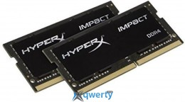 SO-DIMM 2x16GB/2400 DDR4 Kingston HyperX Impact (HX424S14IBK2/32)