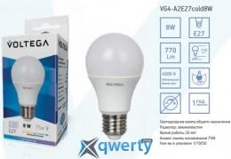 LED VOLTEGA E27 4000 К 8 W (VG4-A2E27cold9W)