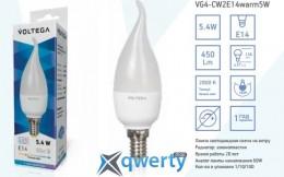 VOLTEGA E14 2800К 5,4W (VG4-CW2E14warm6W)