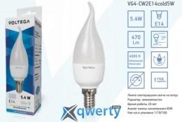 VOLTEGA E14 4000К 5,4W (VG4-CW2E14cold6W)