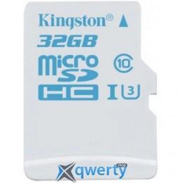 Kingston 32GB microSDHC C10 UHS-I U3 R90/W45MB/s Action(SDCAC/32GBSP)