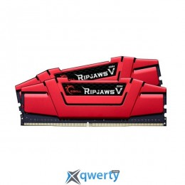 G.SKILL 32GB 2666MHz Ripjaws V CL15 Red (2x16384) F4-2666C15D-32GVR