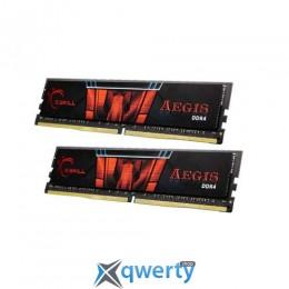 G.Skill Aegis 16GB (2 x 8GB) DDR4-2400(F4-2400C15D-16GIS)