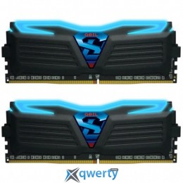 GeIL 16GB Kit (2x8GB) DDR4 SUPER LUCE (PC4-19200) C16 2400MHz(GLB416GB2400C16DC)
