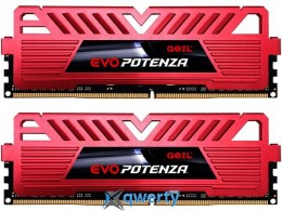 GeIL DDR4-2400 32768MB PC4-19200 (Kit of 2x16384) Evo Potenza (PC4-19200) (GPR432GB2400C16DC)
