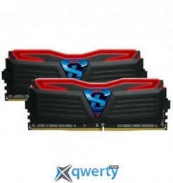 Geil Super Luce Black/Red LED DDR4 3000MHz 2x8GB (GLR416GB3000C15ADC)